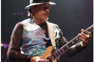 Carlos Santana by Eva Rinaldi