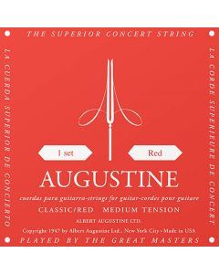 Augustine Classic Red Medium tension .028