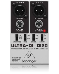 Behringer DI20 2 kanaals DI Box