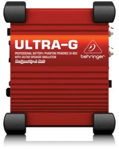 Behringer Ultra G GI100 DI Box met 4x12 speakersimulatie