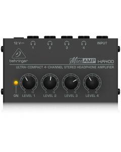 Behringer HA400 Micro Amp hoofdtelefoon versterker