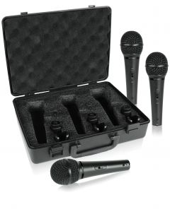 Behringer XM1800S microfoon set (3 stuks)
