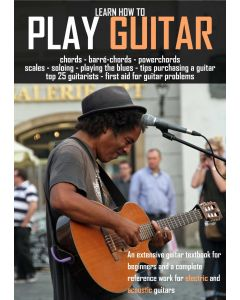 Learn to Play the Guitar Textbook for beginners