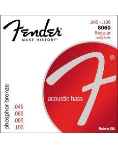 Fender 8060 Phosphor Bronze akoestische basgitaarsnaren .045