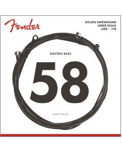 Fender 9120M fretloze basgitaarsnaren nylon tapewound .058