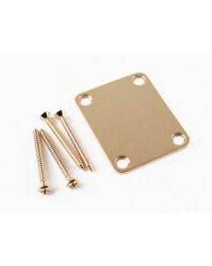 Fender American Vintage Neck plate goud