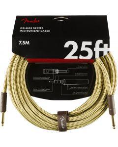 Fender Deluxe instrument kabel 7.5m tweed
