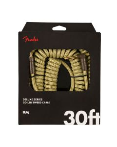 Fender Deluxe Series Coiled Tweed Kabel 9m