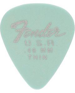 Fender Dura-Tone 0.46 Thin Daphne Blue plectrum