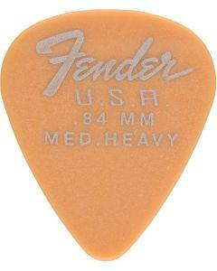 Fender Dura-Tune 0.84 Medium Heavy Butterscotch Blonde plectrum