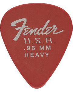 Fender Dura-Tone 0.96 HeavyFiesta Red plectrum