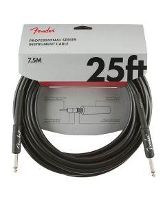 Fender Professional instrument kabel zwart 7.5m
