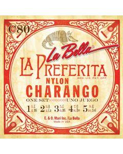La Bella C80 Charango .019