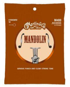 Martin M400 Mandoline 80/20 bronze .010