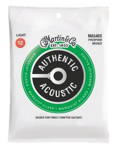 Martin Authentic Acoustic Silked fosfor/bronze .012