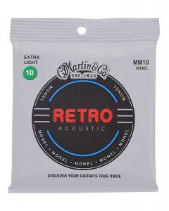 Martin MM10X Retro Acoustic Monel Wound .010