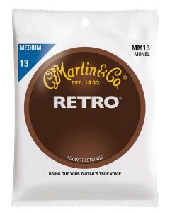 Martin MM13 Retro Acoustic monel wound .013