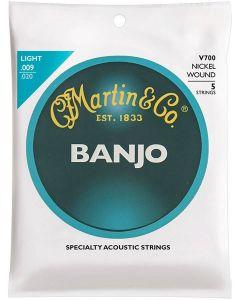 Martin V700 snarenset voor 5-snarige banjo