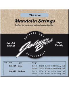Mandoline Snaren Bronze