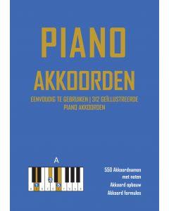 Piano Akkoorden Boek met 312 geïllustreerde akkoorden e-book (pdf)