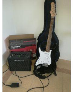 Linkshandige beginners gitaar Stagg