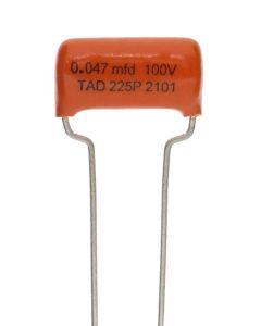 TAD Sprague Orange Drop 225P capacitor 0.047uF 100V