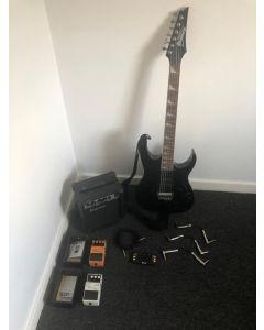 Ibanez elektrische gitaar Starters set + Boss effecten