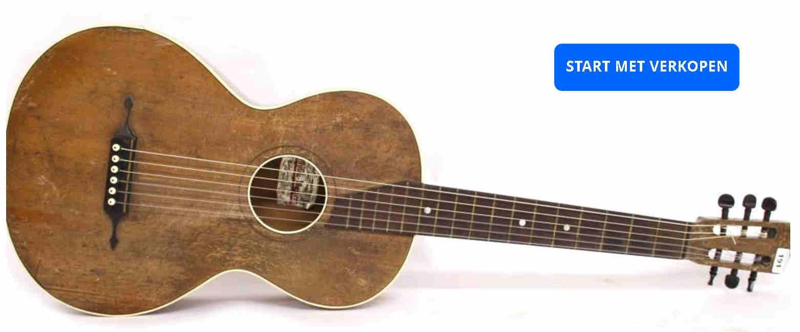 Tweedehands gitaar